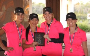 Girls golf wins Region Preview for second time this season