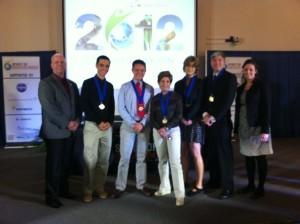 Seniors win international competition, grant money