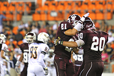 Men in maroon hope to leave lasting legacy on, off field