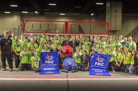 Robotics goes undefeated in San Antonio tournament