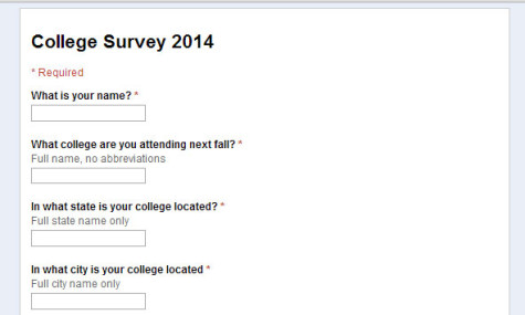 College decisions needed for senior issue