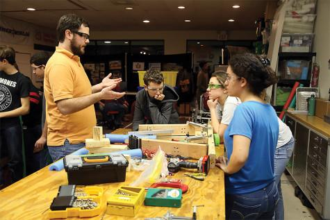 Students experience career-based classes at Miller Career Center