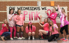 Students pink out to support cancer cause