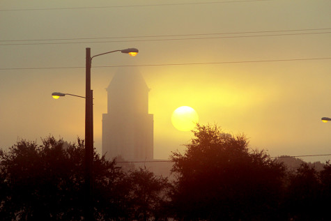 Fog moves in as temps warm up; morning traffic snarled