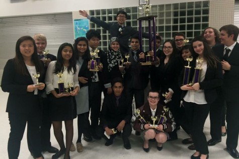 Debate Team Wins at Alief Kerr, Snags Trophies at Cy-Fair