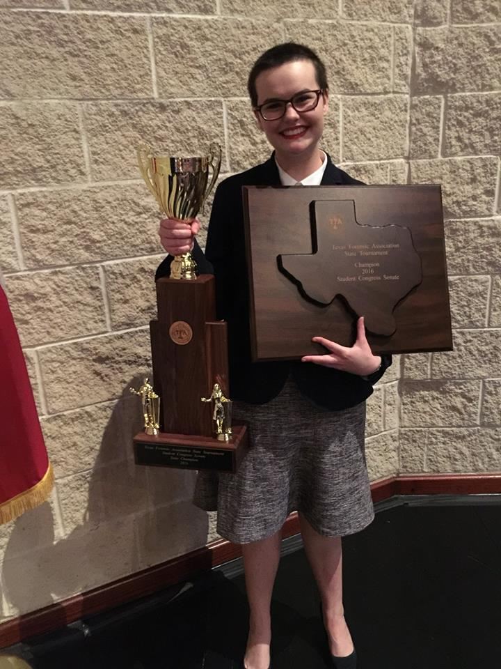 Cinco student wins TFA state