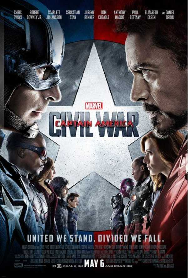 Captain America: Civil War, a slow burning film that boasts incredible depth, excellent action despite its faults