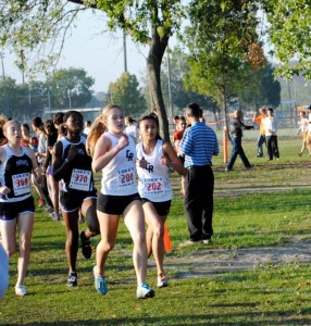 Rookie runner races to state