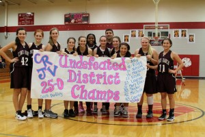 JV girls finish second consecutive perfect season
