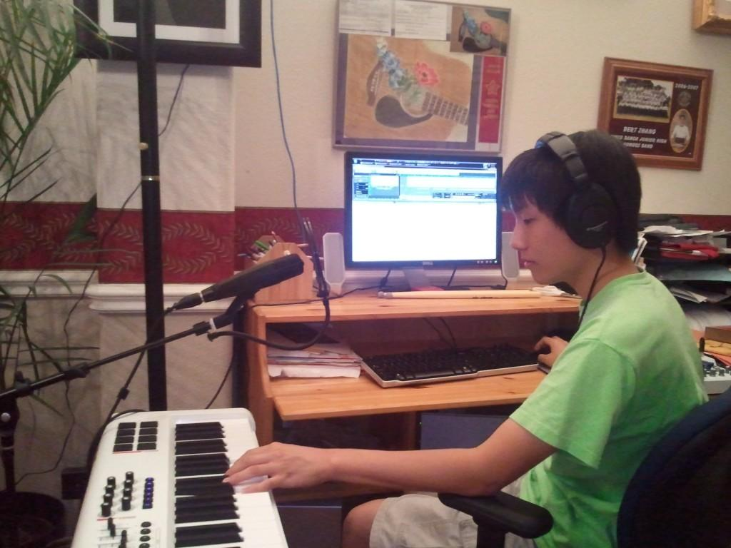 Student pursues musical composition at Urbana-Champaign