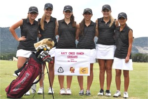 Girls' Golf places second at Concan Competition