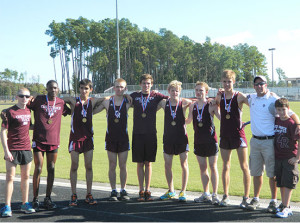 Cross Country Places strong at Brenham Invitational