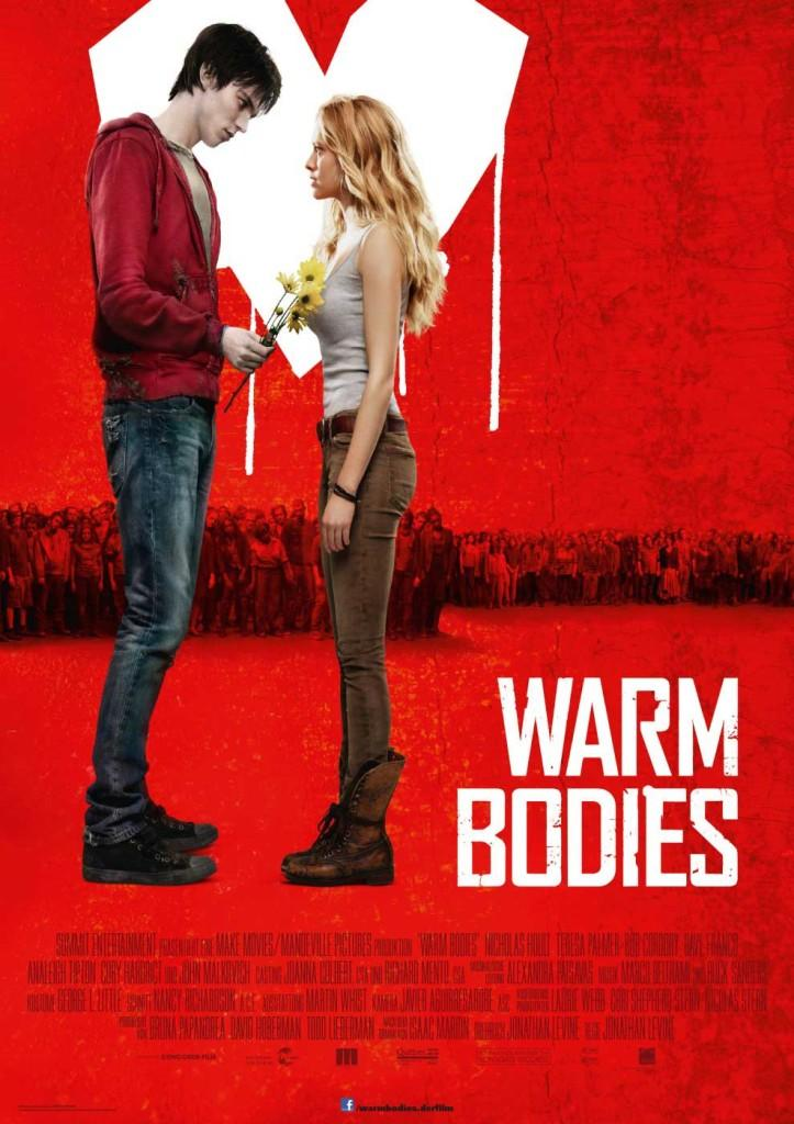 Warm Bodies movie poster after movie release February 1, 2013