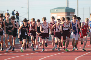 On their mark, get set, go: Track team races on to Regionals