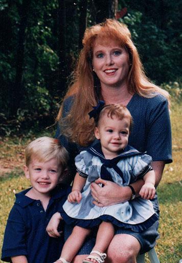 Senior Jamie Lynne Tatum with her older brother, Kyle Tatum and mother, Andrea Lynne Tatum.