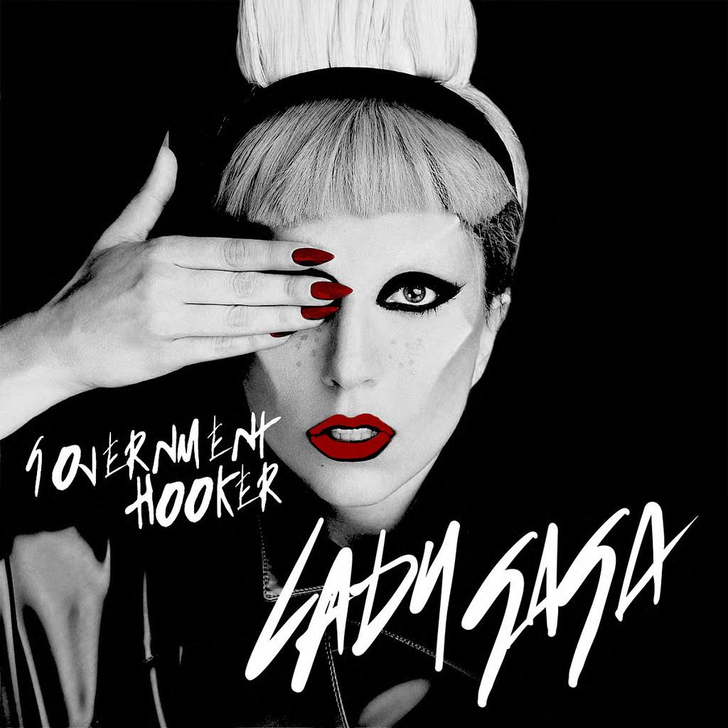 Lady Gaga's Government Hooker Single cover. CC: BY-NA-SC