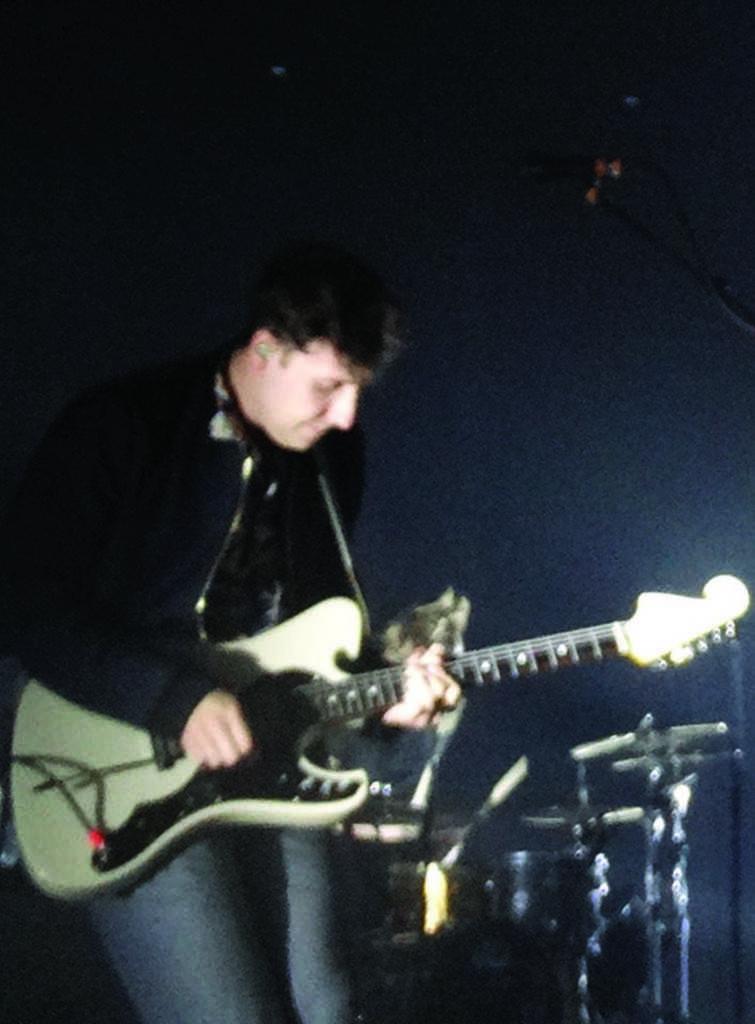 Sam Halliday performing on Nov. 5 at the Bayou Center.