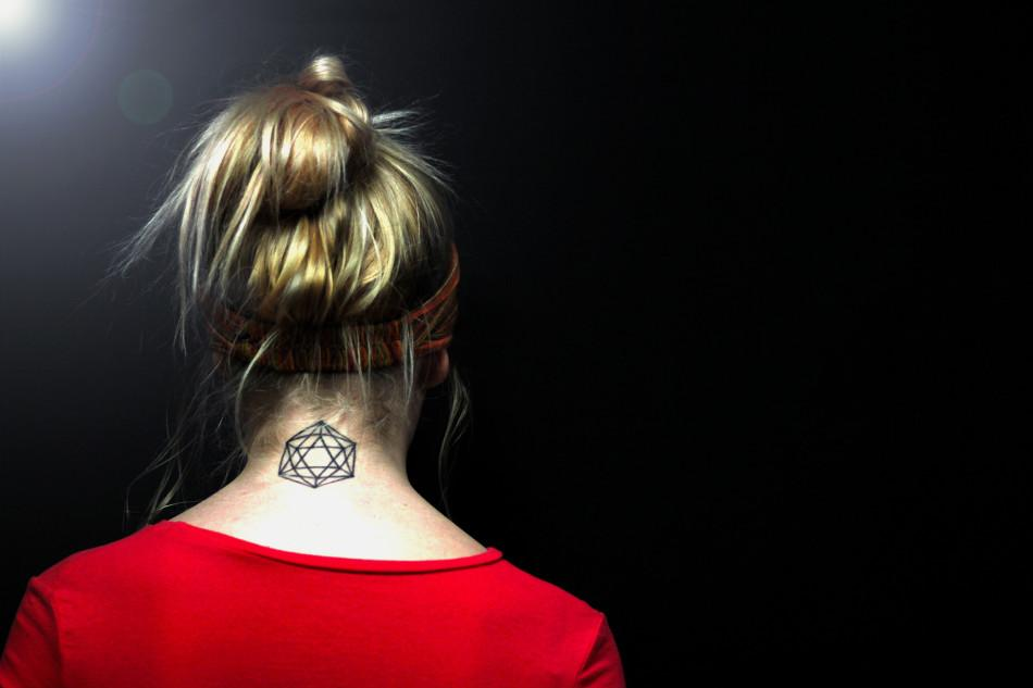 Senior Josie Harry's tattoo is an ode to her astrological sign.