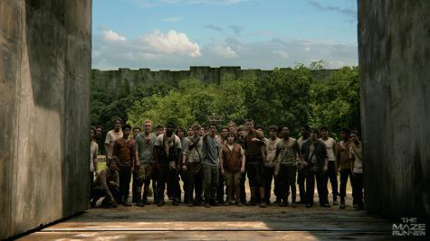 The Maze Runner is fresh, exciting