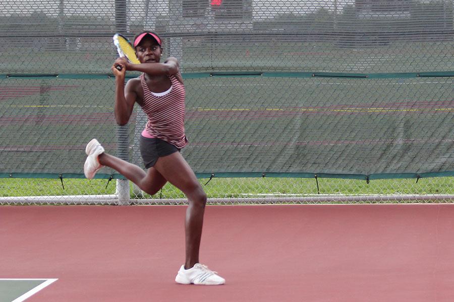 Team tennis snatches first ever district championship