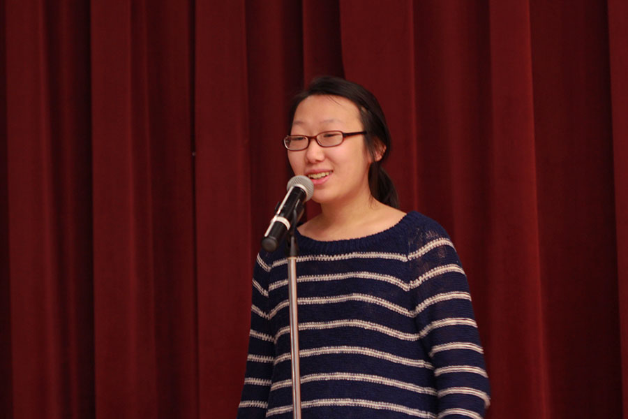 Senior+Christina+Xu+performs+%22Solitide%22+by+Ella+Wheeler+Wilcox.