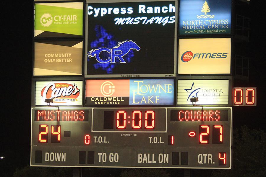 Varsity+FB+opens+the+2015+season+with+a+final-second+victory+over+Cy-Ranch+27-24.