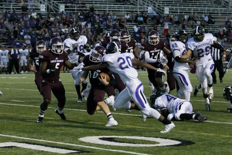 Varsity FB stays perfect with second district win