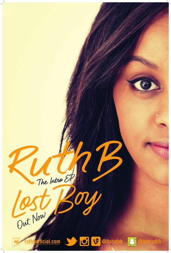 Ruth B's EP, Lost Boy, contains the songs