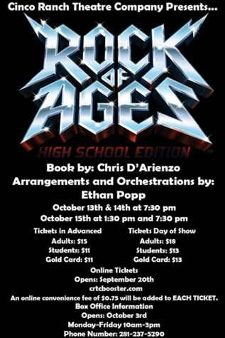 "Theatre to perform ""Rock of Ages"""