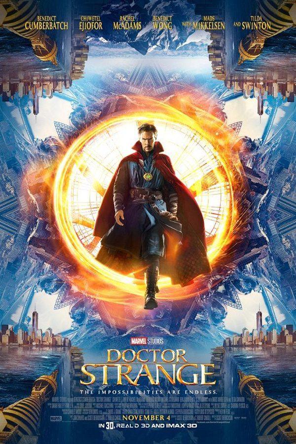 Benedict Cumberbatch as the titular Doctor Strange.