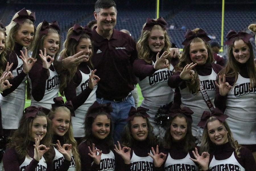 Superintendent+Dr.+Lance+Hindt+cheered+on+the+sidelines+at+NRG.+Cinco+is+the+last+remaining+KatyISD+team+in+the+playoffs.++