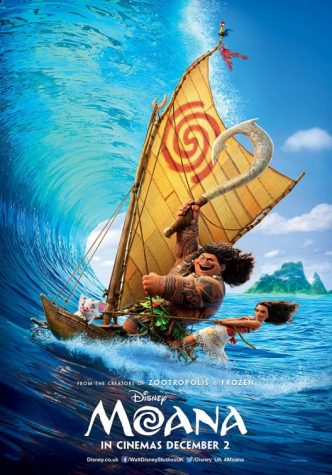 The Disney produced Moana continues to top the box office two weeks after release.