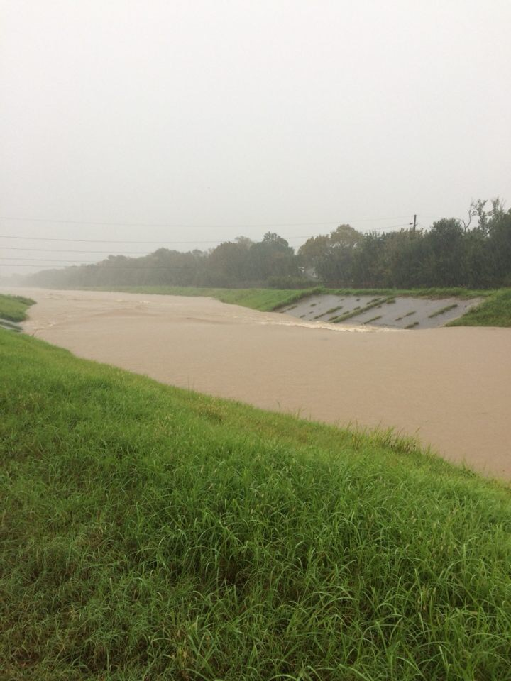 Buffalo Bayou, a critical drainage system for the area around CRHS, was filled to capacity by floodwaters and rain then overflowed its banks on Monday, Aug. 28 causing severe flooding to neighborhoods south of the bayou.