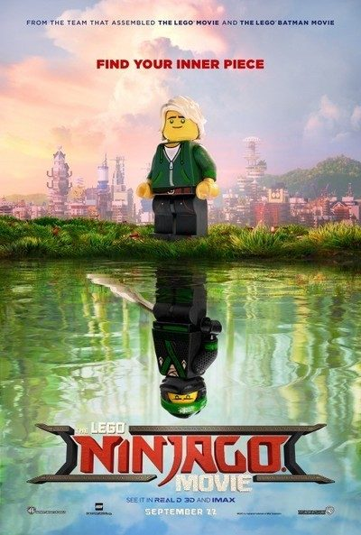 The LEGO Ninjago Movie, based on the Cartoon Network show, is the third movie in the LEGO Universe, created by The LEGO Movie in 2014.