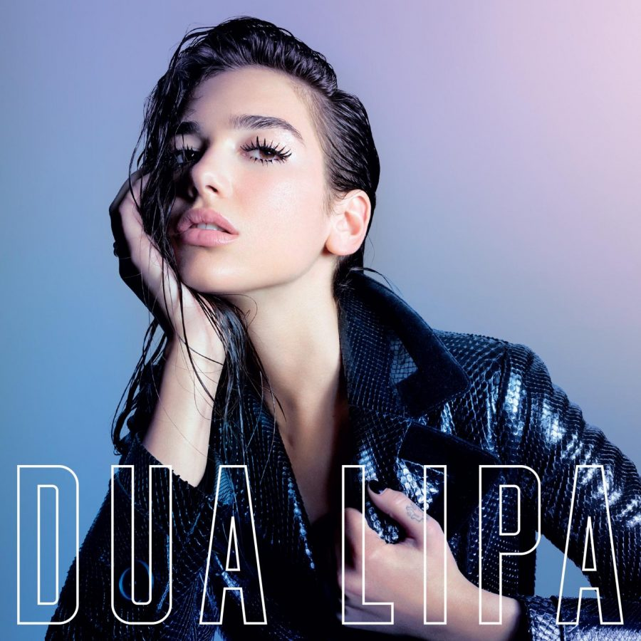 Dua Lipa is the first female musician to top the UK charts since Adele's