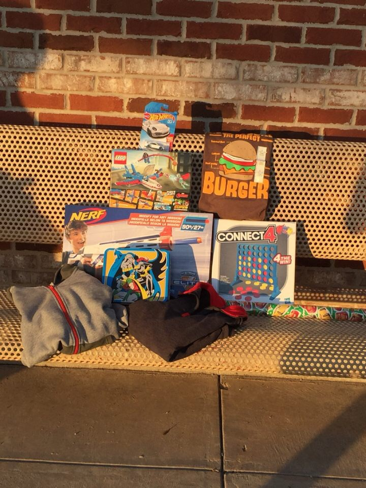A collection of toys and games donated to the Santa Cops program.