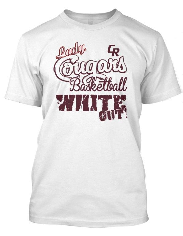 White Out shirts are on sale for $10 from Assistant Coach Rachel Caldarera or at the game itself.
