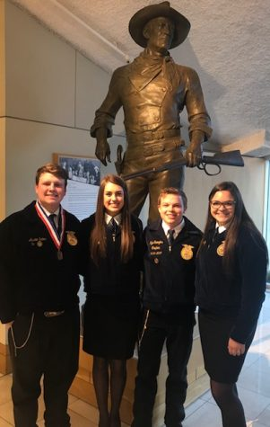FFA team places 10th in nation