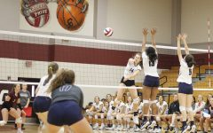 Varsity VB starts strong in early season tournament