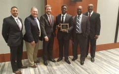 David Gbenda earns Houston TD Club award