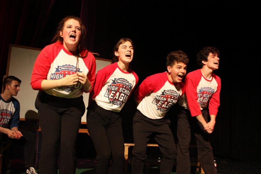 ComedySportz competes in first match of 2018-2019 season