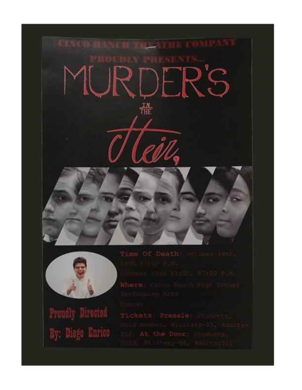 CRTC's Murder's in the Heir Premiere