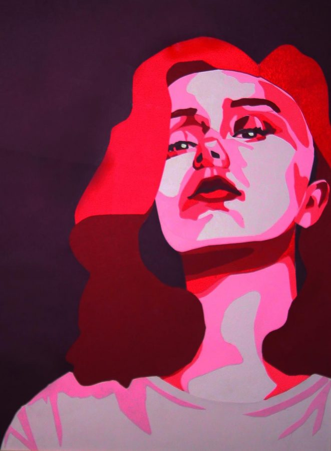 Cut Paper Portrait,  Nicole Sweet
