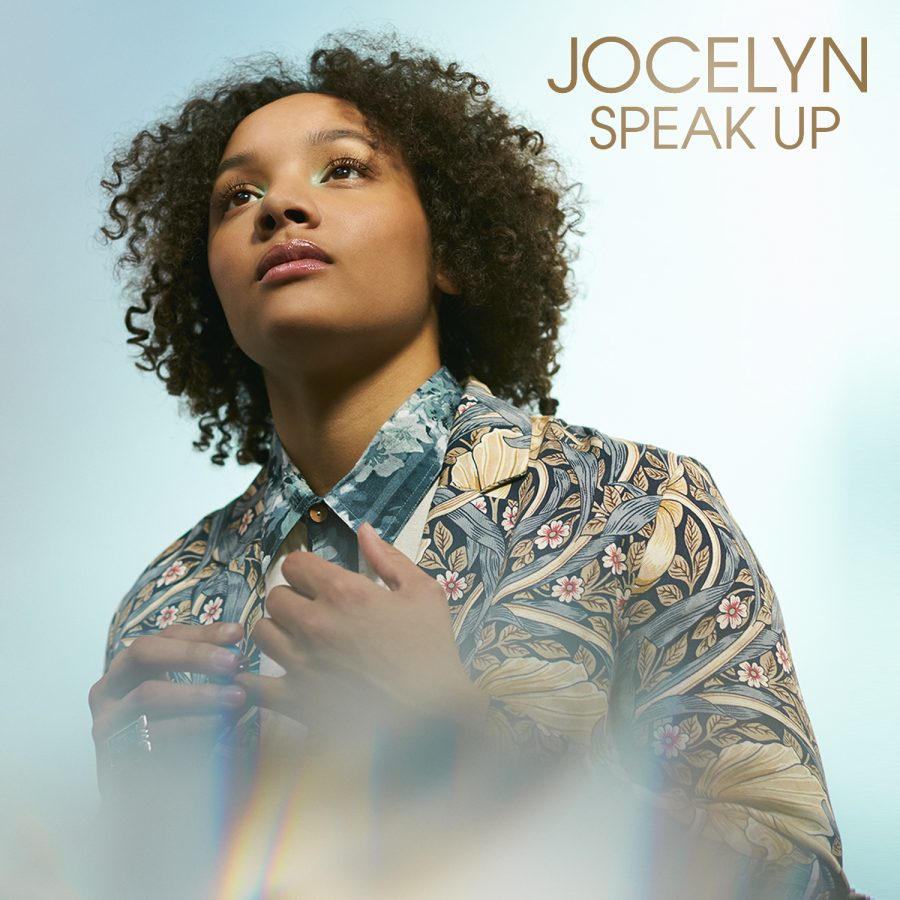 Jocelyn makes a statement with 'Speak Up'