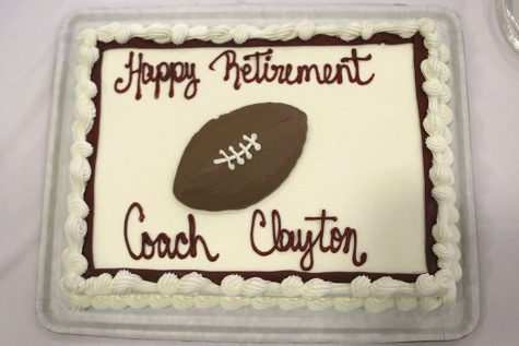 Former players, coaching colleagues and family gathered May 22 to celebrate a Katy ISD and Texas high school football coaching legend.