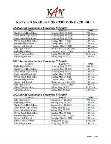 Seniors To Graduate Week Early