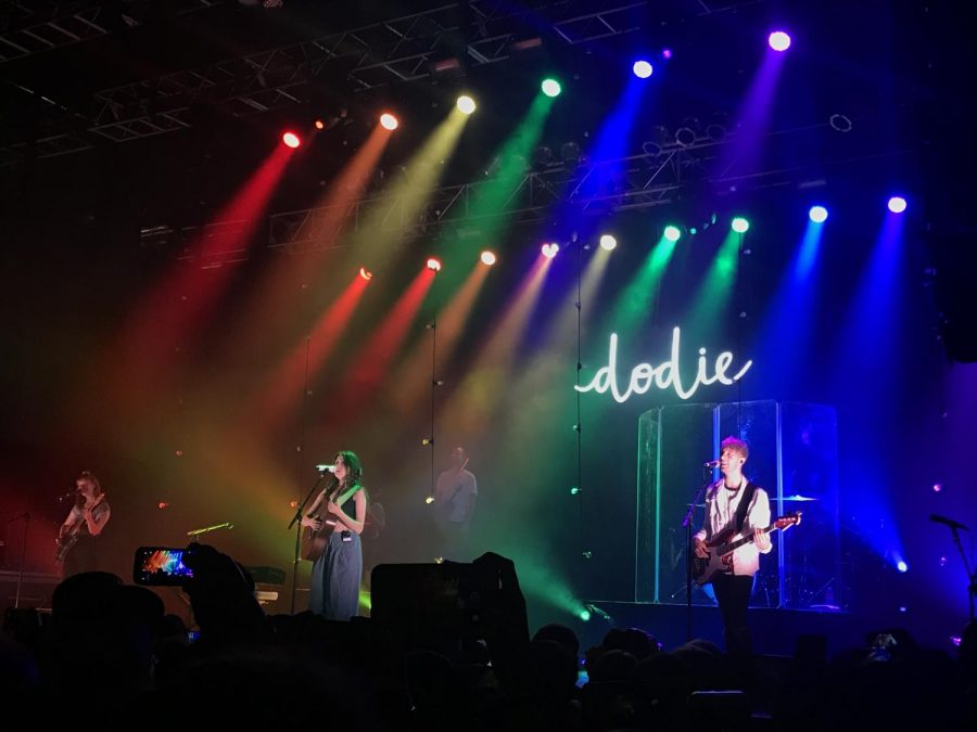 Dodie Clark uses her tour as a space of acceptance and positivity.