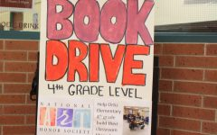 NAHS Holds Elementary Book Drive