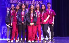 Academic Decathlon Takes Third Place at Regionals