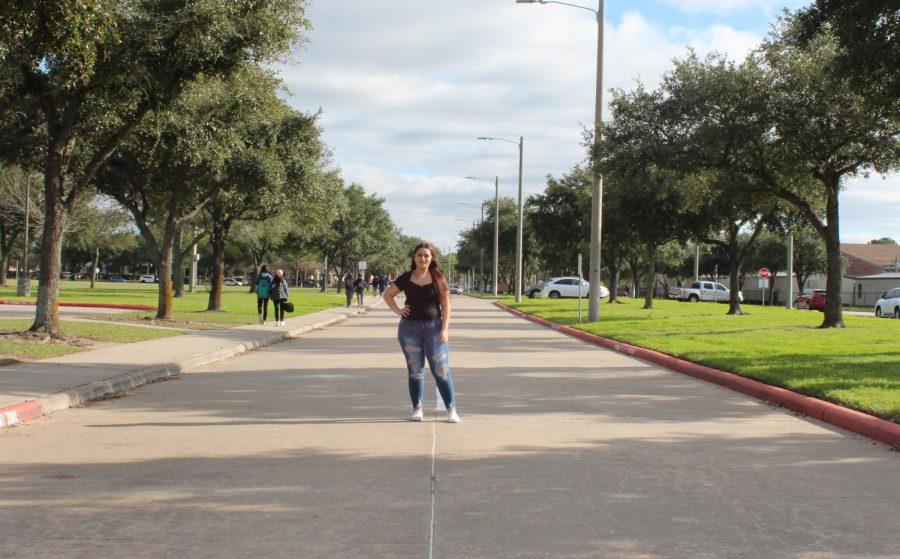 Sophomore Vivinnia Aguilar